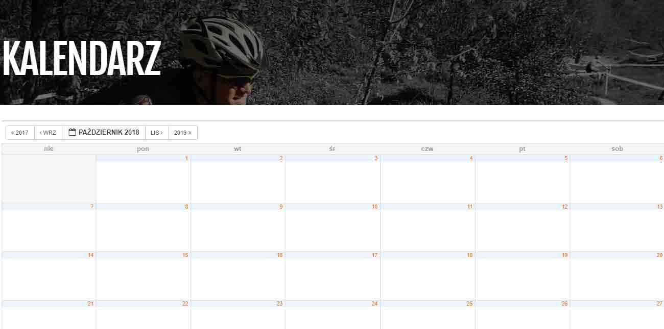 maratony i treningi rowerowe