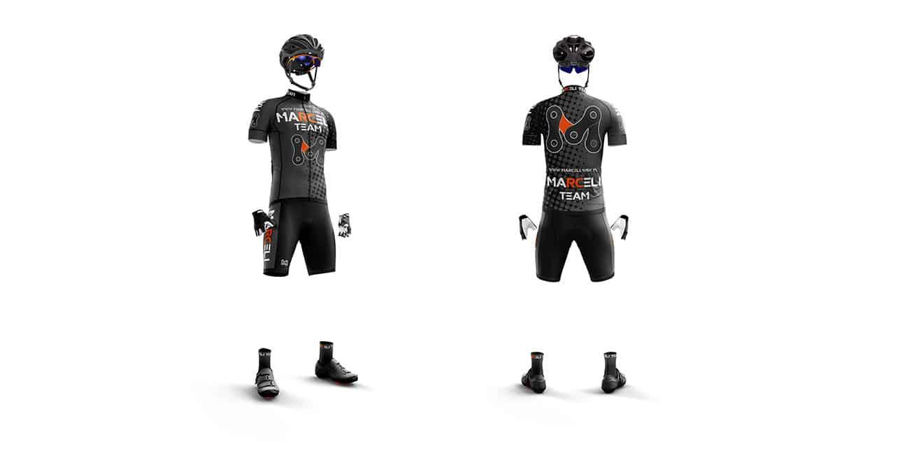Stroje rowerowe Marceli Team SLR